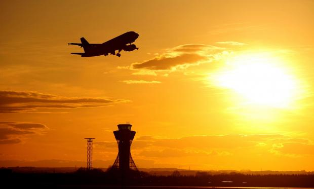 The Northern Echo: NEW DAWN: Airport fears over Scottish independence