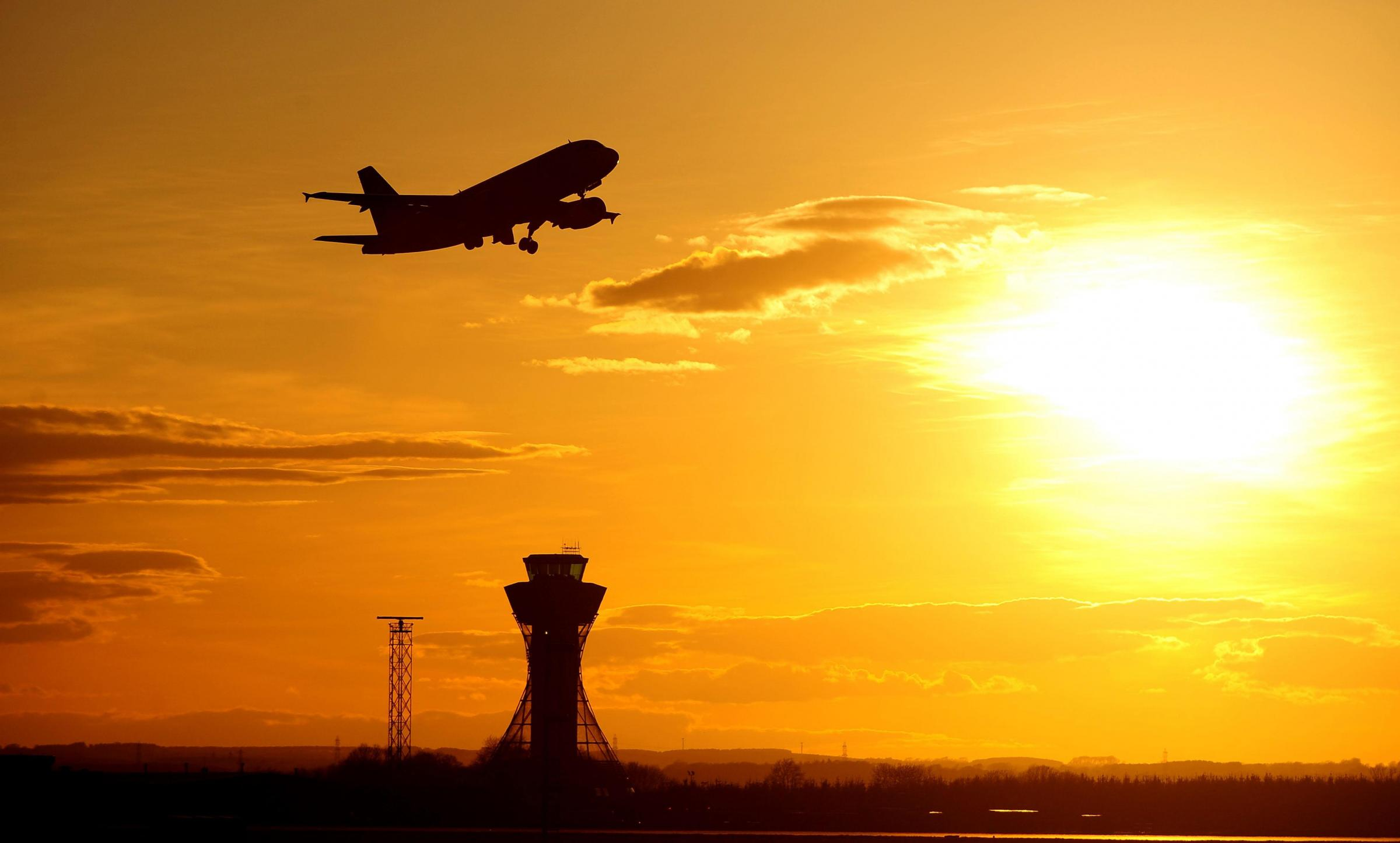 NEW DAWN: Airport fears over Scottish independence