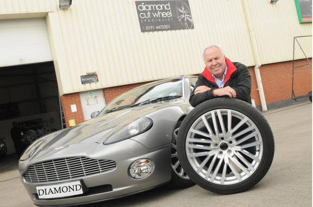 DRIVING FORCE: Stephen Lee, Diamond Cut Alloy Wheels' owner, is delighted the firm is expanding to Middlesbrough