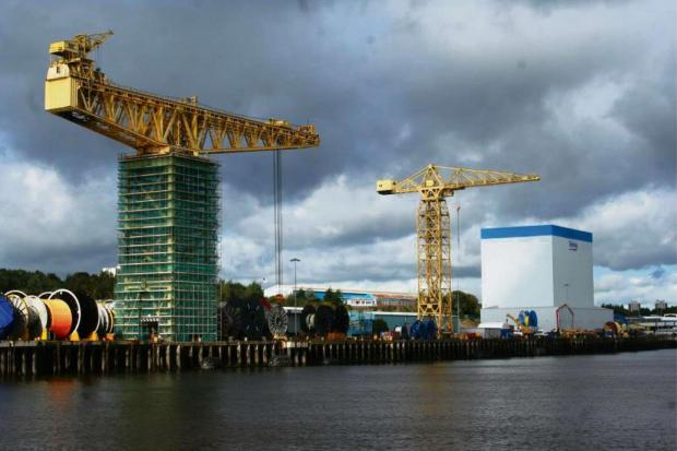 NEW BUILD: Technip's new plant on the River Tyne