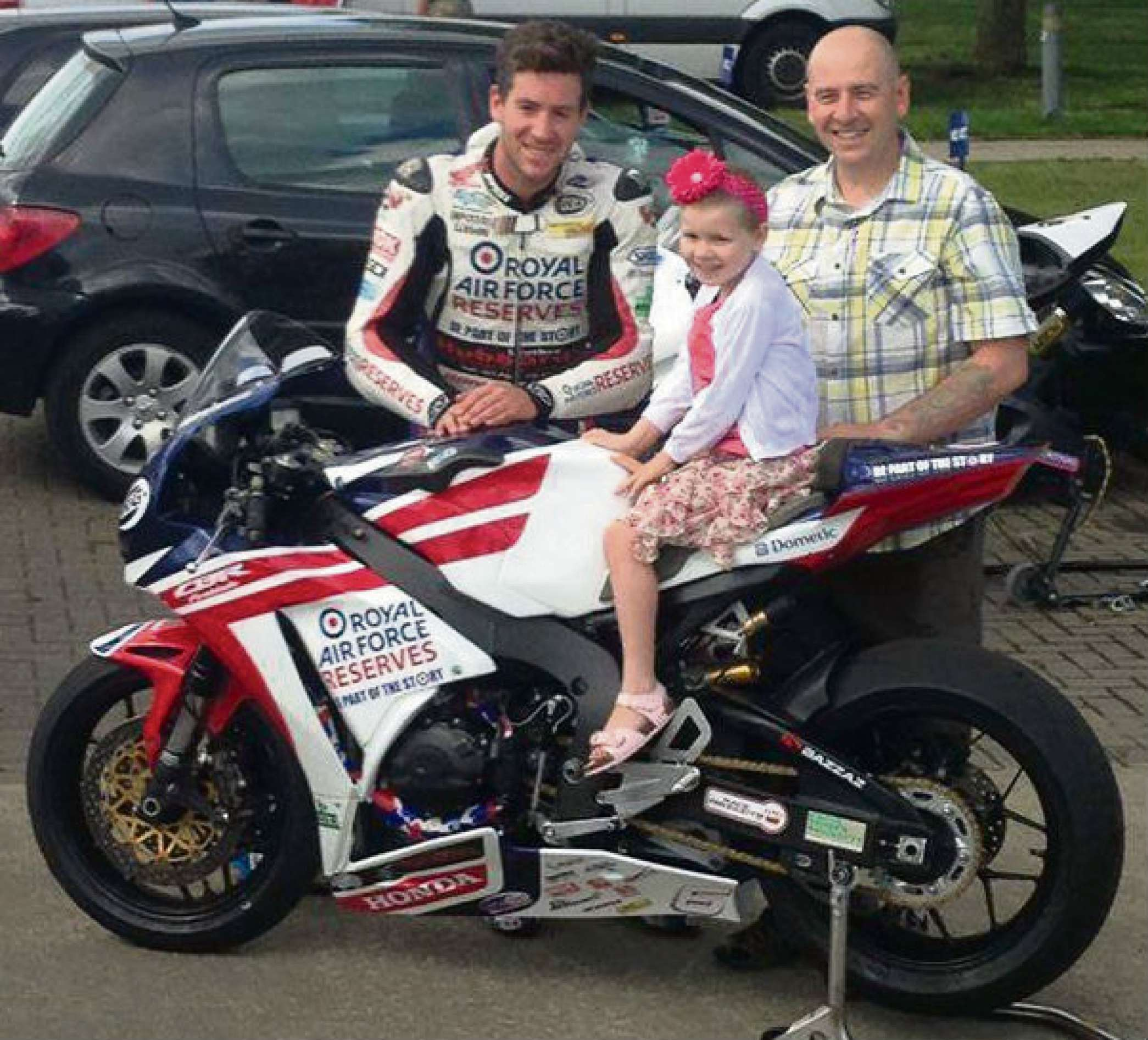 Fraja readmitted to hospital over health concerns as fundraiser Simon Andrews dies in motorbike race crash