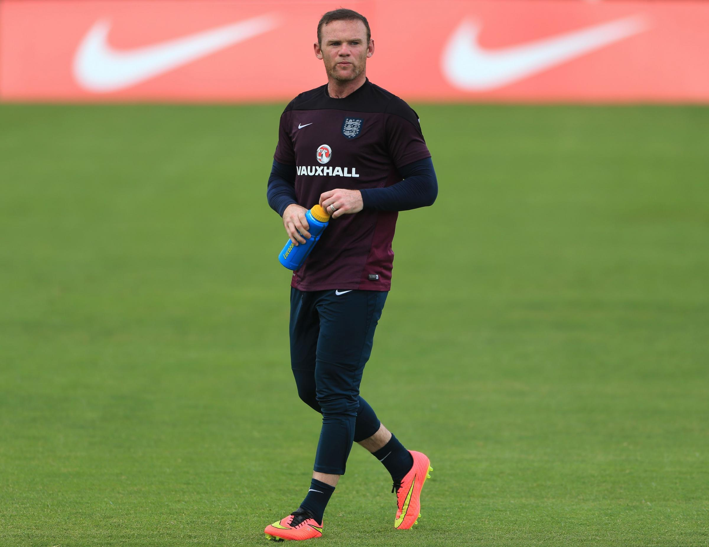 ONE OF THE BEST? Despite his billing, Wayne Rooney has not scored in either of his two previous World Cups