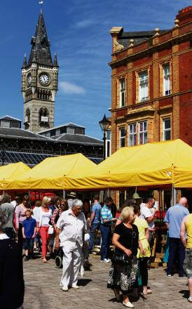 MARKET TOWN: 40 traders will descend on Darlington this weekend as part of the Love Your Local Market event