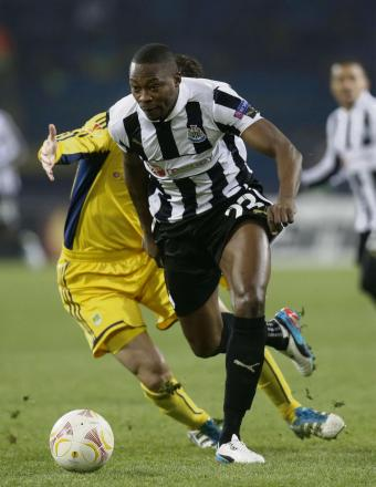 RELEASED: Newcastle United have confirmed that Shola Ameobi has not been offered a new contract at St James' Park