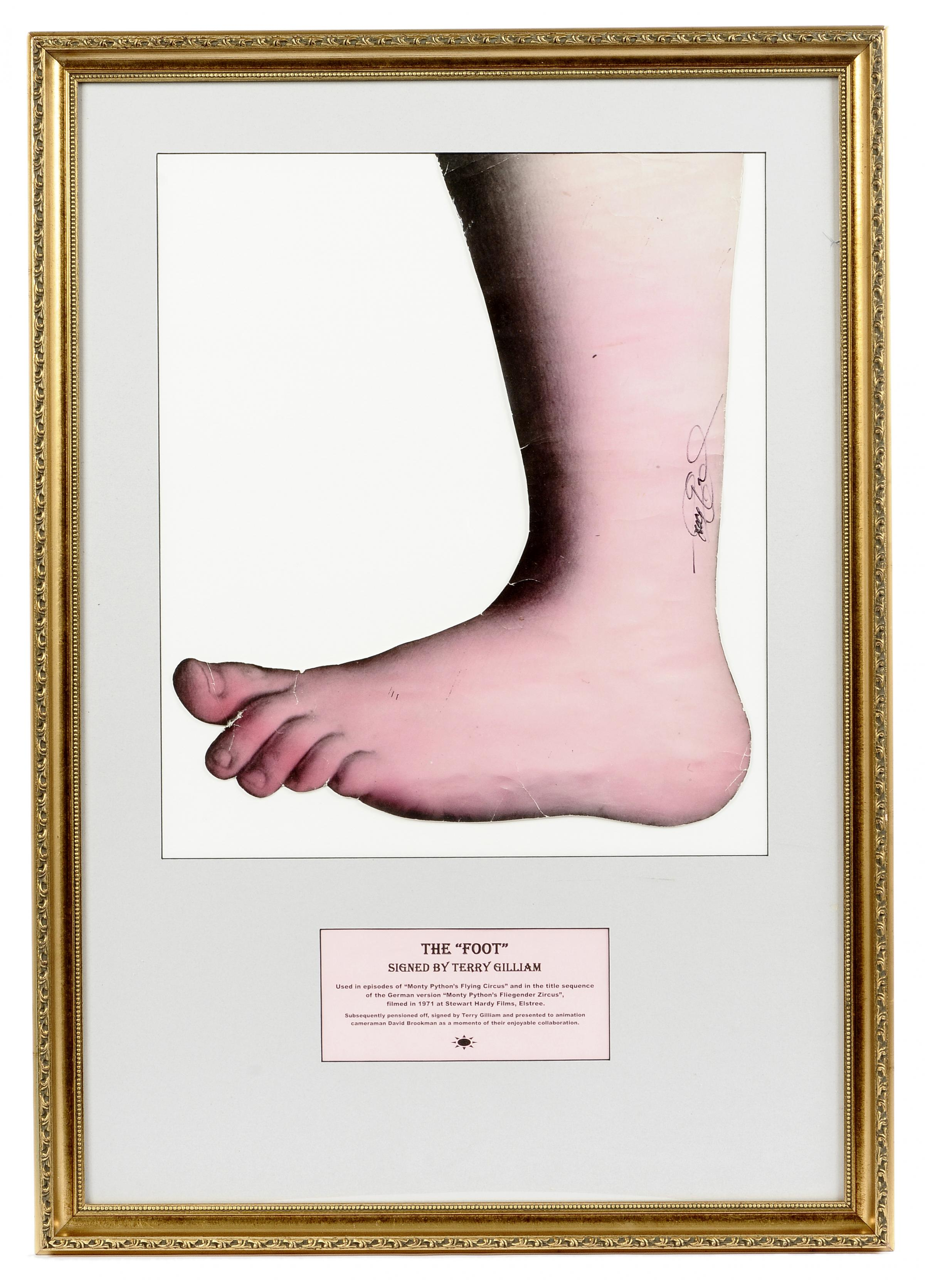 Monty Python Giant Foot Famous Monty Python Foot to go