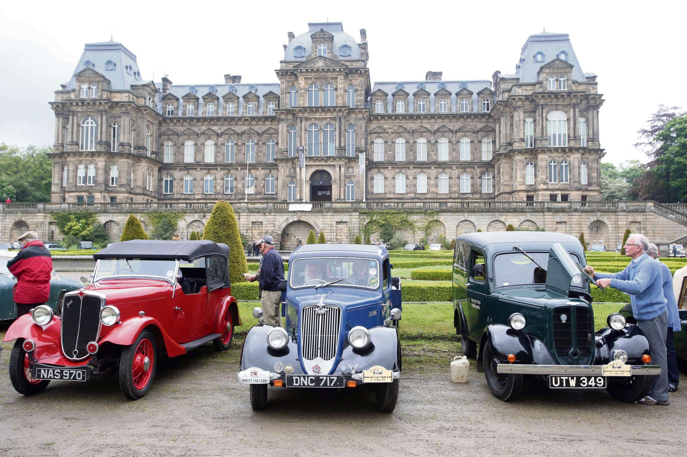 Jowett international rally in region