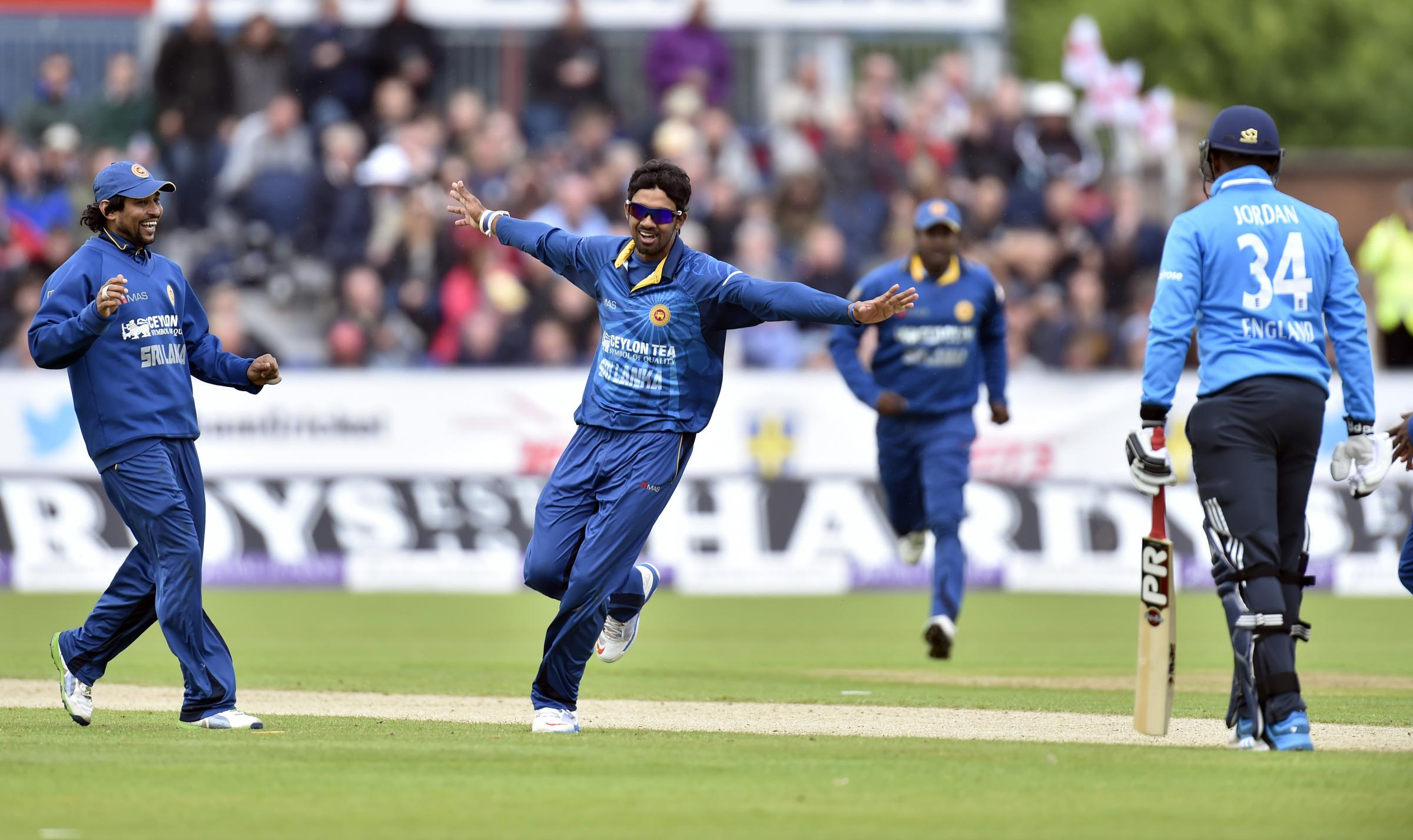 England humiliated as Sri Lanka record resounding win at Chester-le-Street