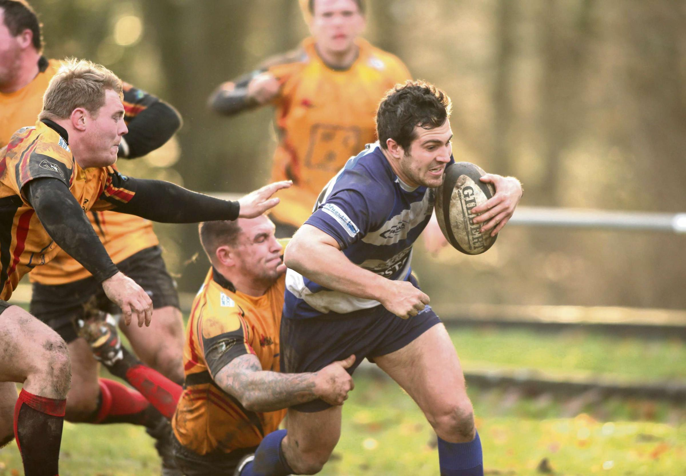 KEY PLAYER: Cameron Mitchell, who scored two tries in Durham's win on Saturday