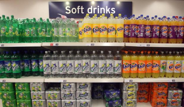 Call for health warnings on sugary drinks