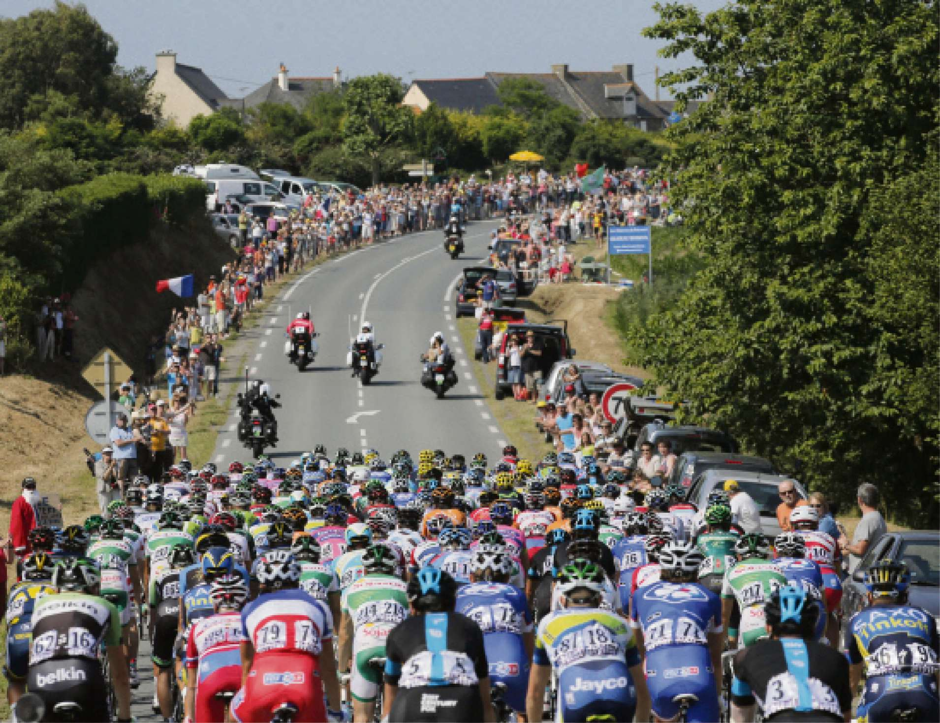TRAFFIC CHAOS: Tour de France riders will descend on the Yorkshire Dales on July 5.