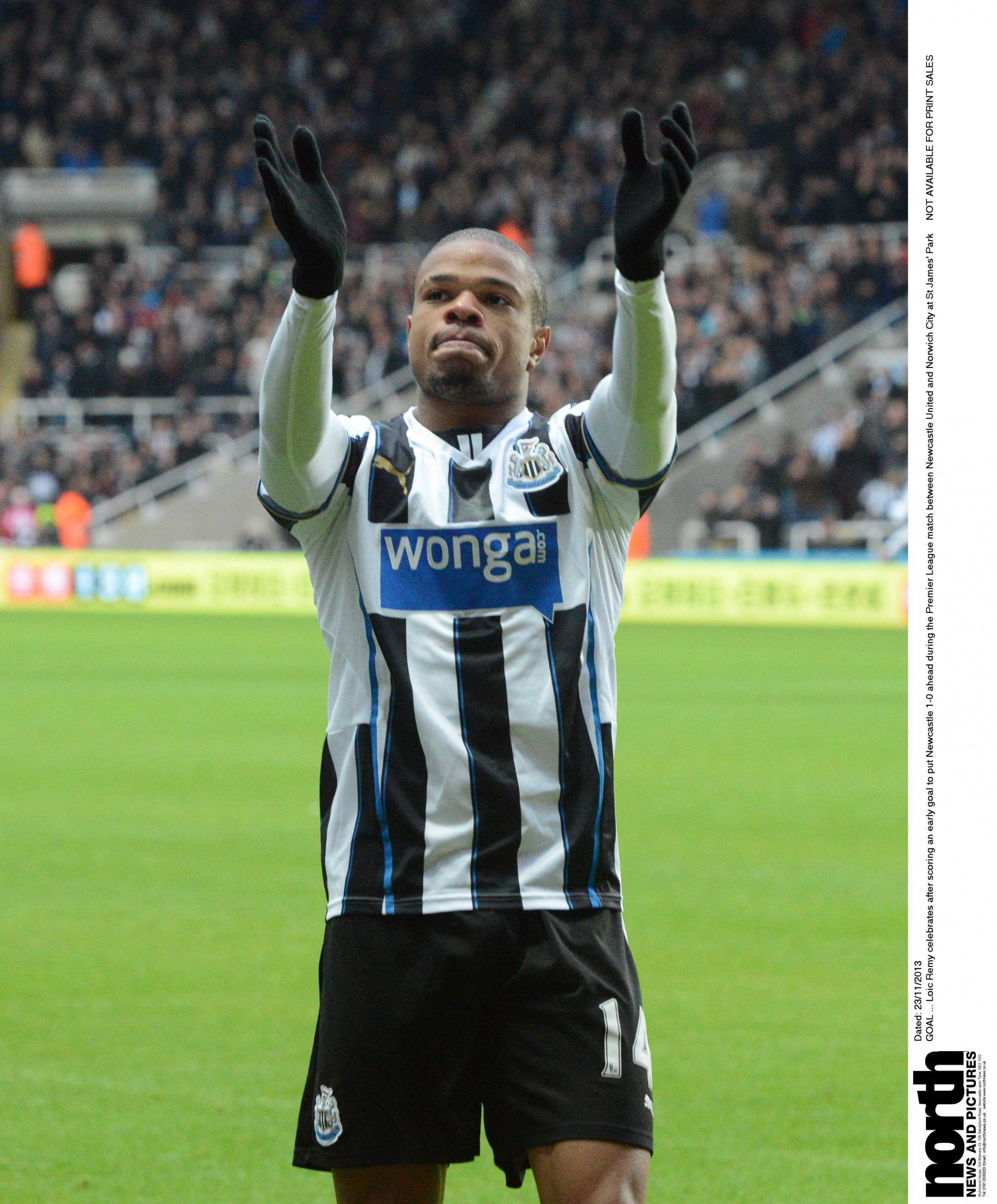 Pardew coy over Remy move