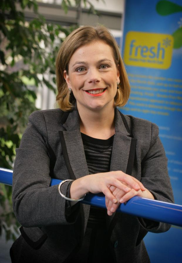 The Northern Echo: Ailsa Rutter, director of Fresh, the North-East tobacco control agency
