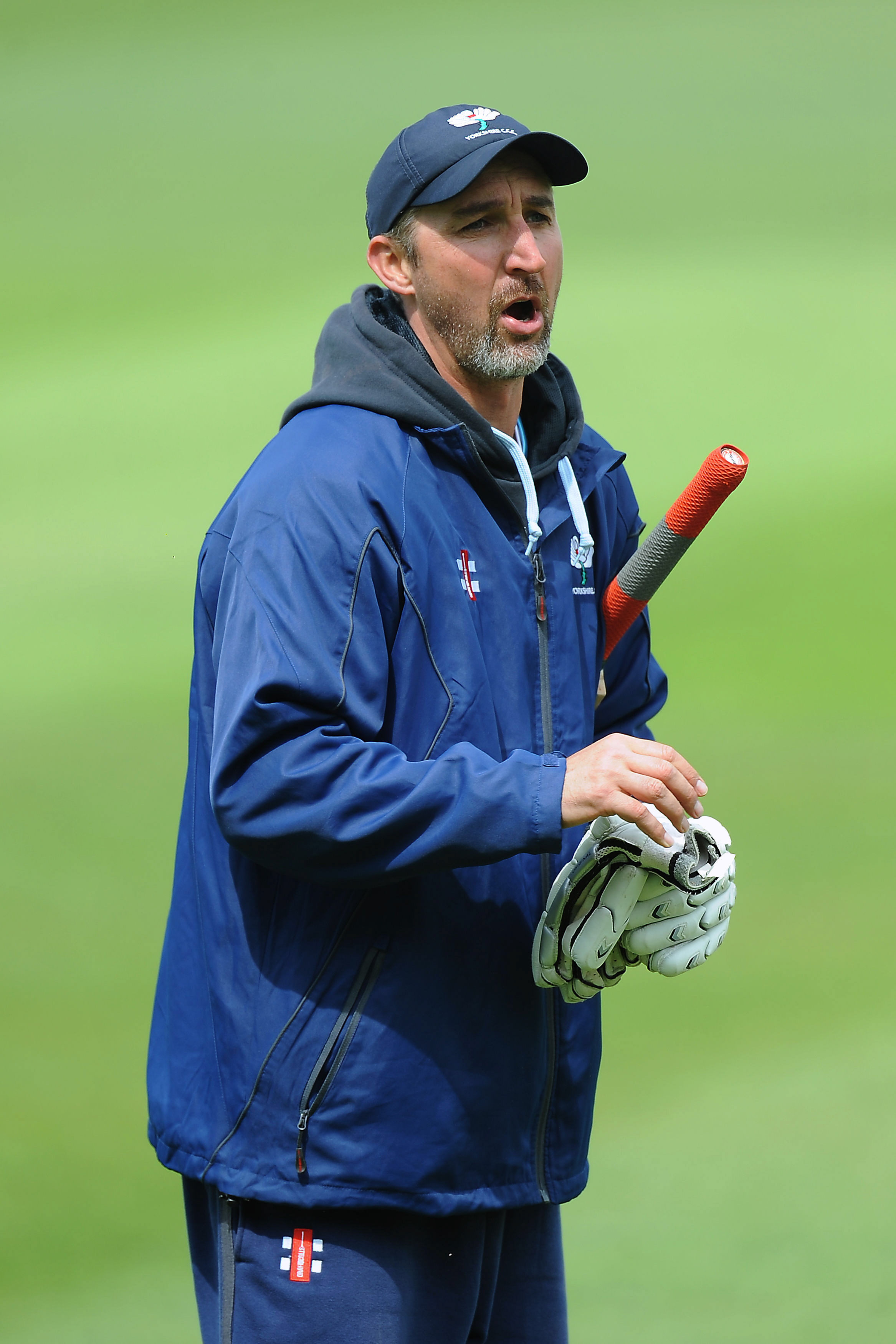 Yorkshire head coach Jason Gillespie