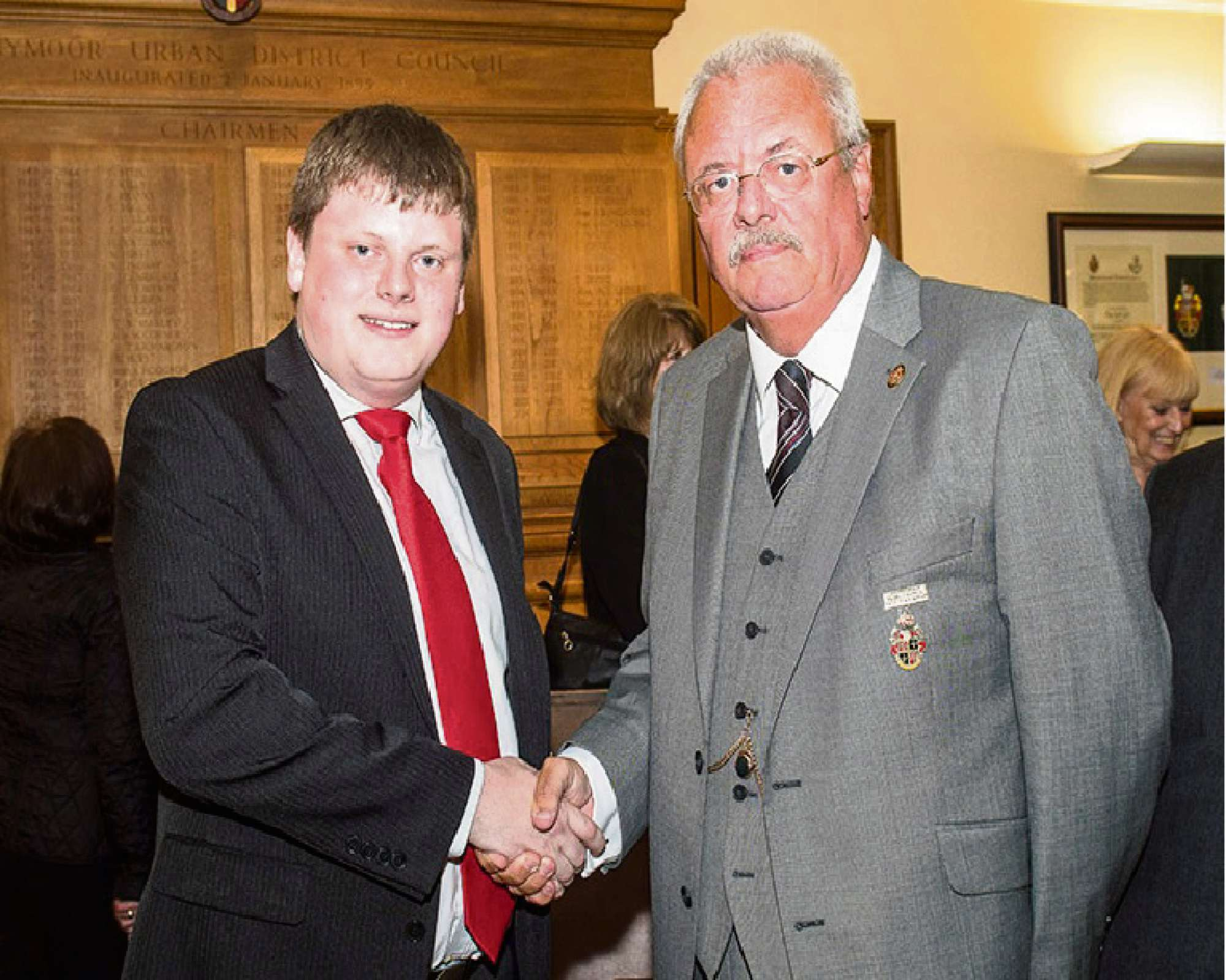24-year-old appointed leader of town council