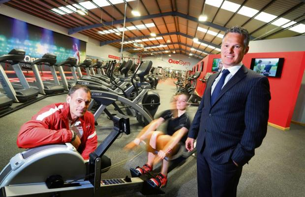 GYM INVESTMENT: left to right Paul Pearson (MD OneGym) and Jonathan Luke (senior portfolio executive at NEL Fund Managers).