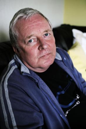 ILL HEALTH: Owen Jackson, turned down for a disabled parking badge despite his severe asbestosis and emphysema. PICTURE: Stuart Boulton.