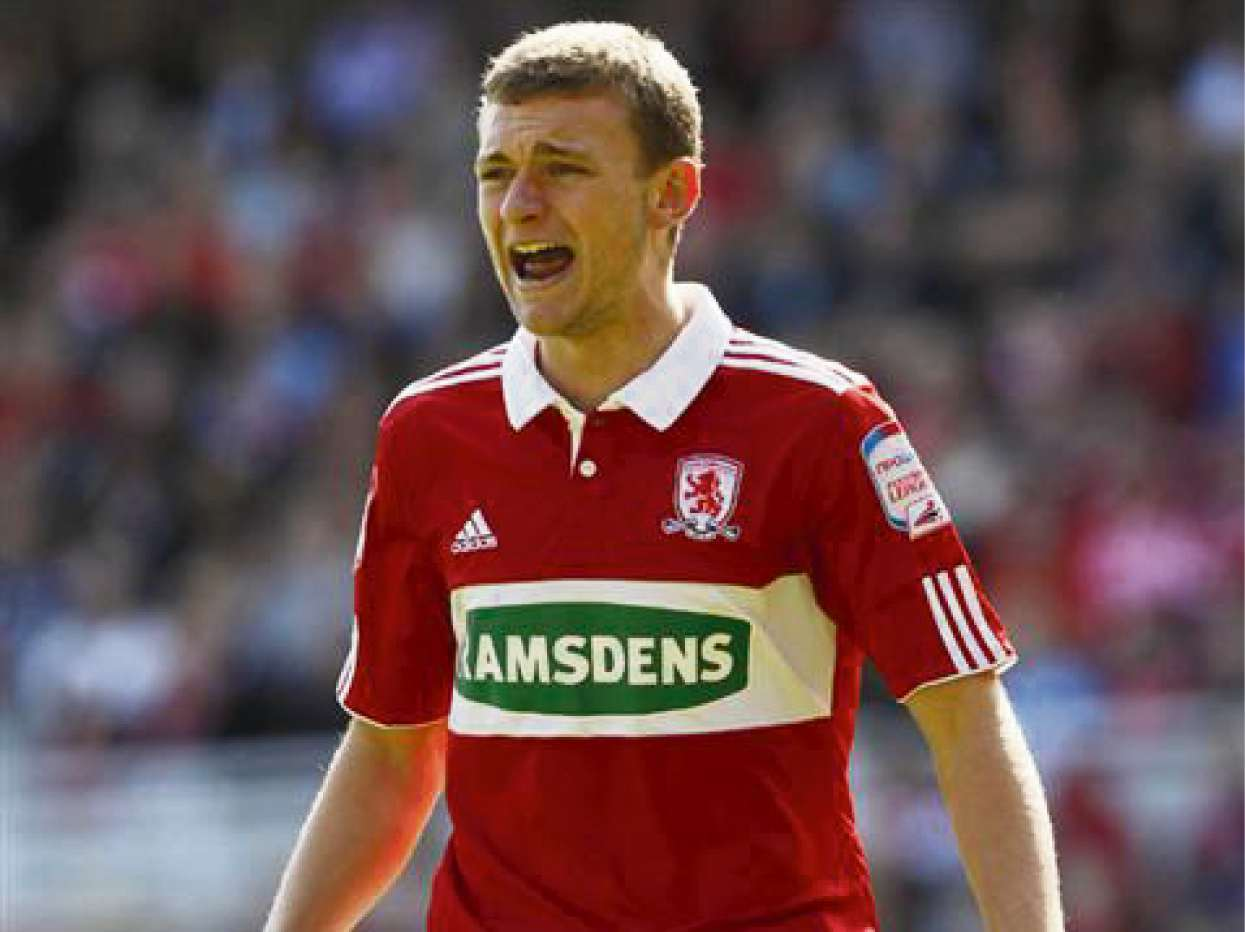 ENGLAND HOPES: Middlesbrough defender Ben Gibson wants to cement a place in the England Under-21 team