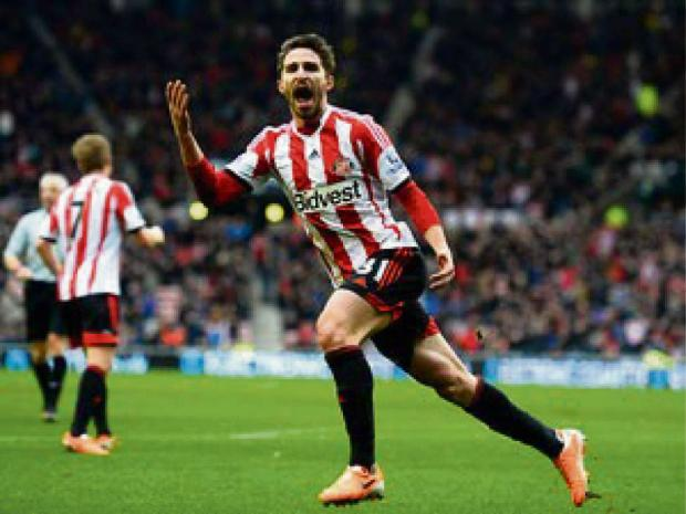 WAITING GAME: Gustavo Poyet admits he is still no closer to discovering whether Sunderland are going to be able to re-sign Fabio Borini