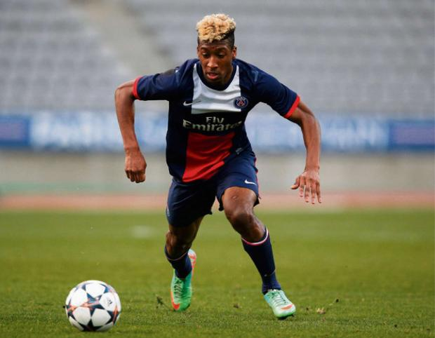 YOUNG STAR: Newcastle are hoping to sign teenager Kingsley Coman, who has burst to prominence at Paris St Germain