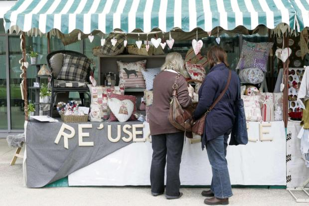 The Northern Echo: LAST TIME: A stall at the Festival of Thrift, in Lingfield Point, Darlington, last year