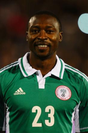 BRAZIL BOUND: Shola Ameobi has been confirmed in Nigeria's final World Cup squad
