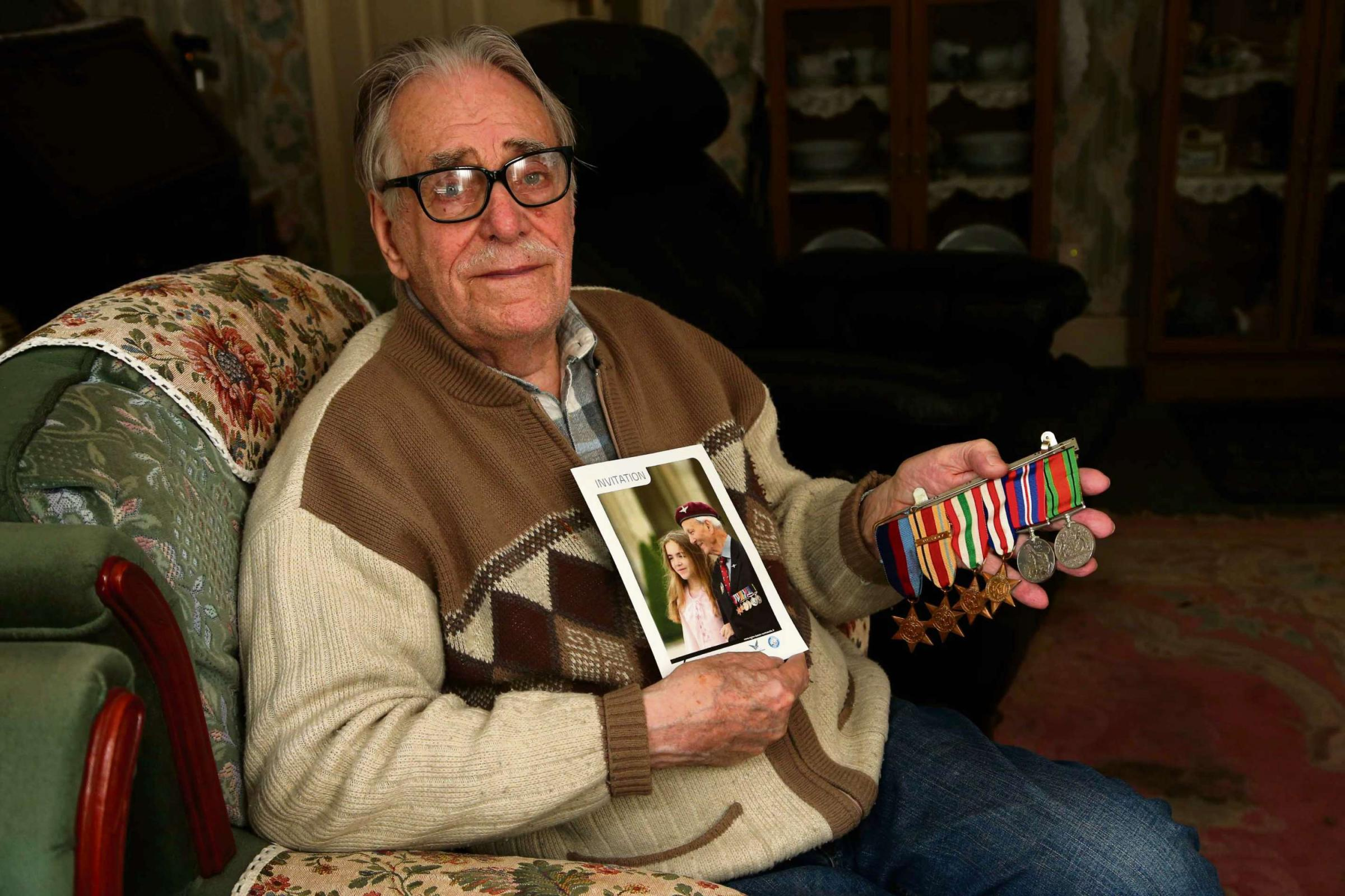 Home honours for veteran denied Normandy return over passport spelling error