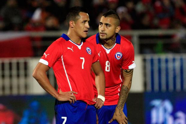 The Northern Echo: Arturo Vidal and Alexis Sanchez