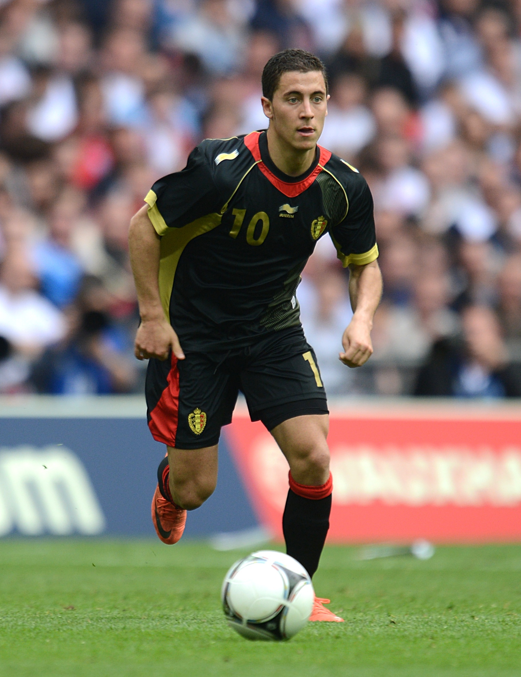 Chelsea's Eden Hazard makes his World Cup bow with Belgium