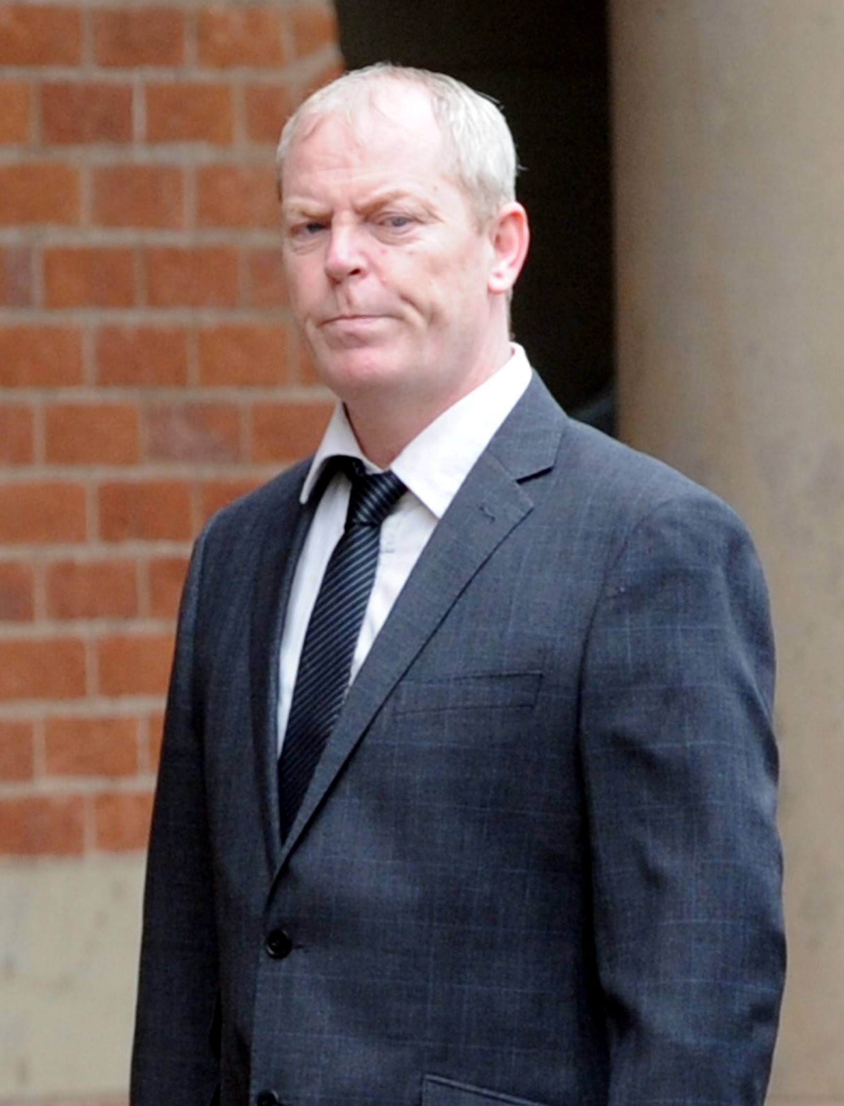 RAPE TRIAL: Former darts player Tony Eccles