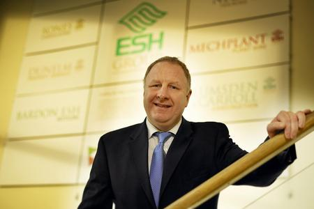 APPRENTICESHIP BOOST: Brian Manning, Esh Group chief executive