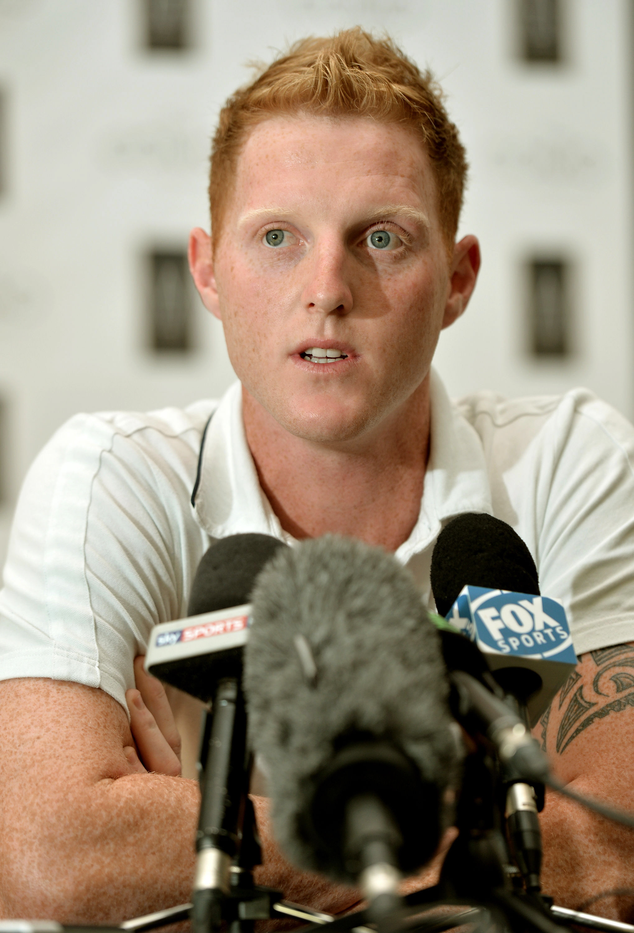 KEEN TO PLAY: Ben Stokes