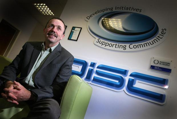 Mark Weeding, chief executive of Disc, a charity that helps people make positive changes to their lives