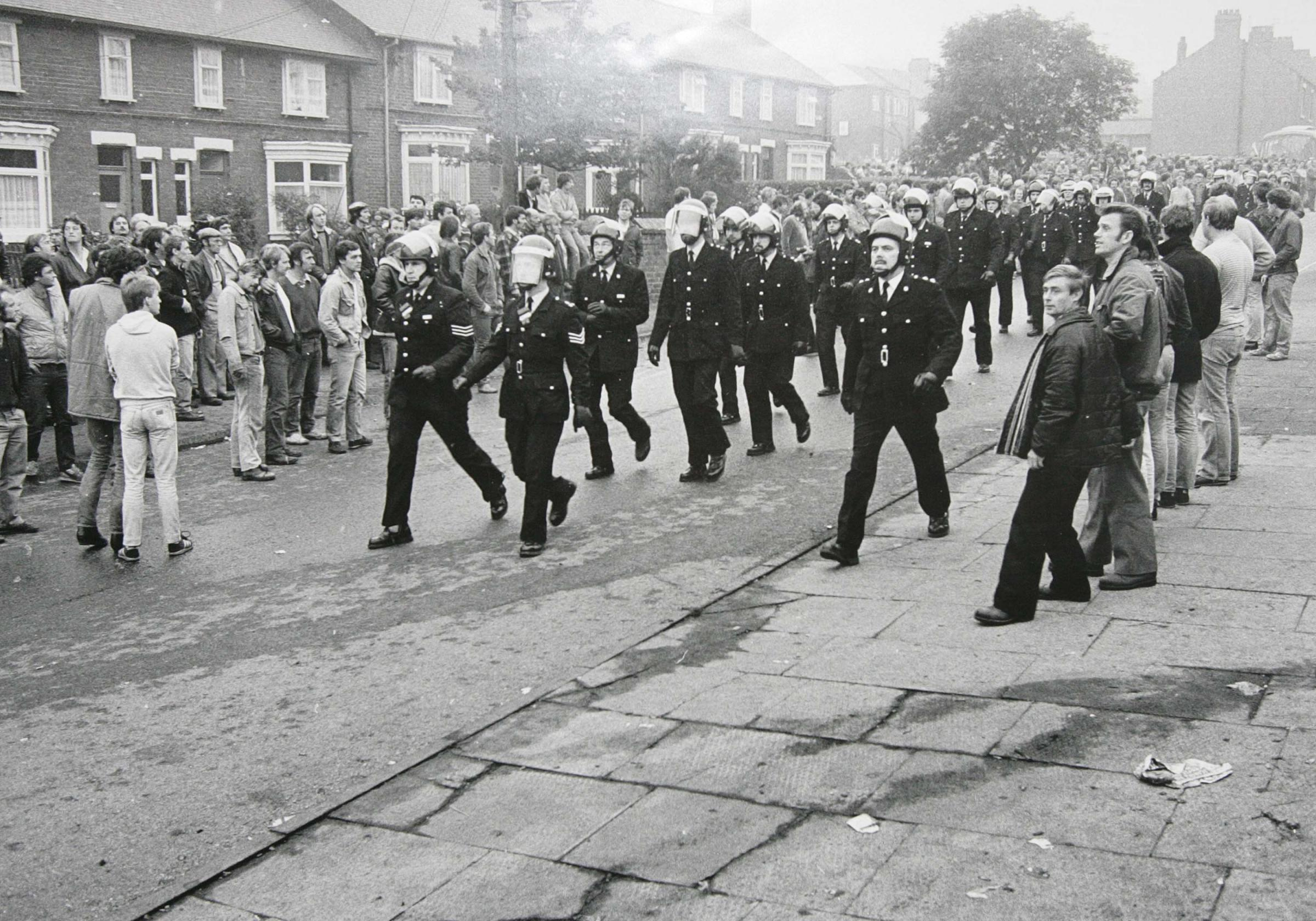 NEVER FORGOTTEN: Easington during the Miners' Strike. Photograph by Keith Pattison