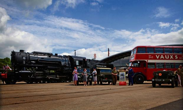The Northern Echo: ARMY LOCOMOTIVE: A former US Army locomotive has gone on show in Shildon.