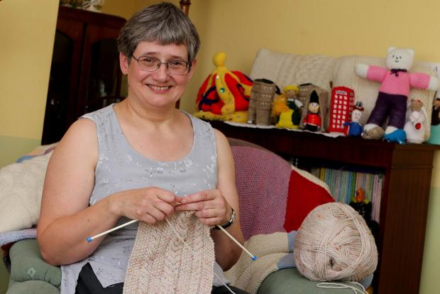 ROYAL HONOUR: Diana Hinns (51) from Dipton receives an BEM in the Queen's Birthday Honours List. Picture: DAVID WOOD