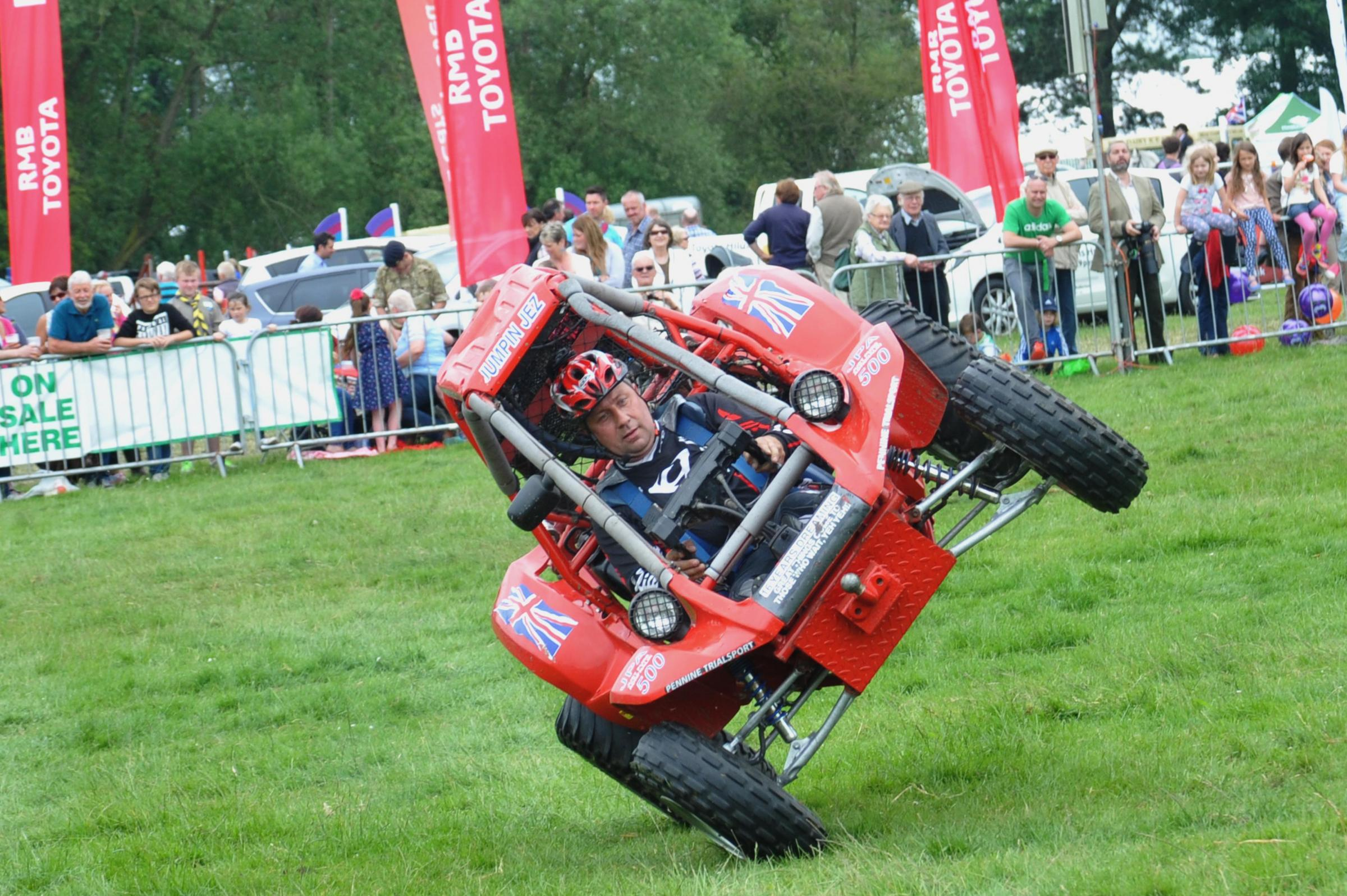 Visitors flock to North Yorkshire County Show