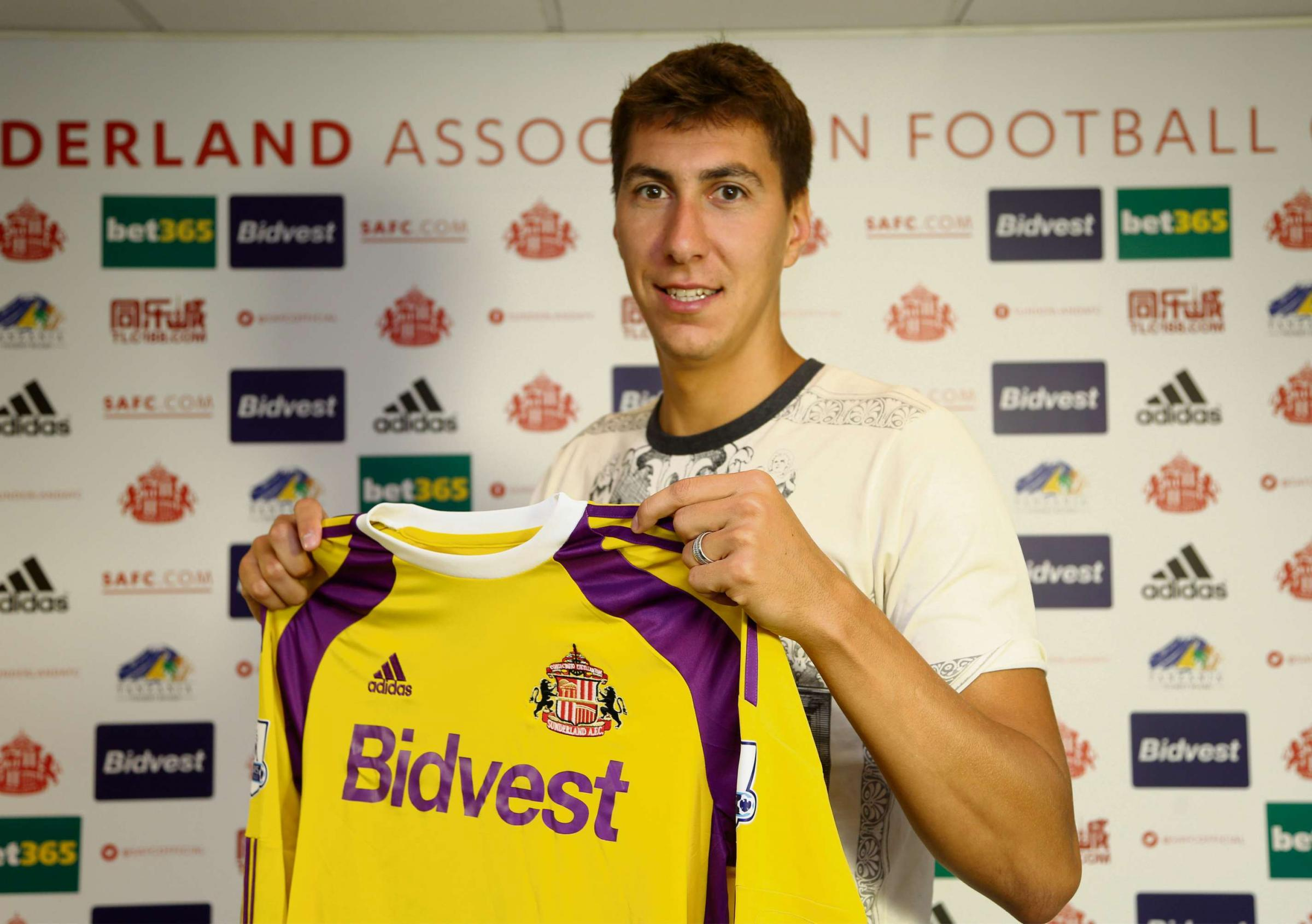 NEW BOY: Costel Pantilimon has signed for Sunderland