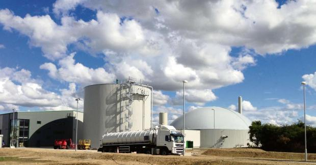 SCHOOL AGREEMENT: Emerald Biogas is processing leftovers from more than 200 schools at its factory in Newton Aycliffe, County Durham