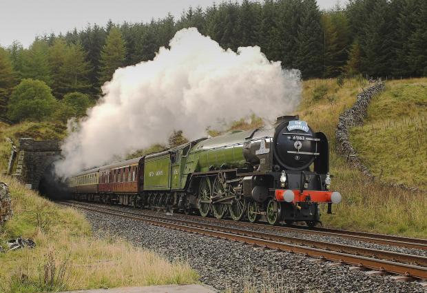 The Northern Echo: STEAMING AHEAD: The A1 Steam Locomotive Trust was behind the successful building of The Tornado locomotive
