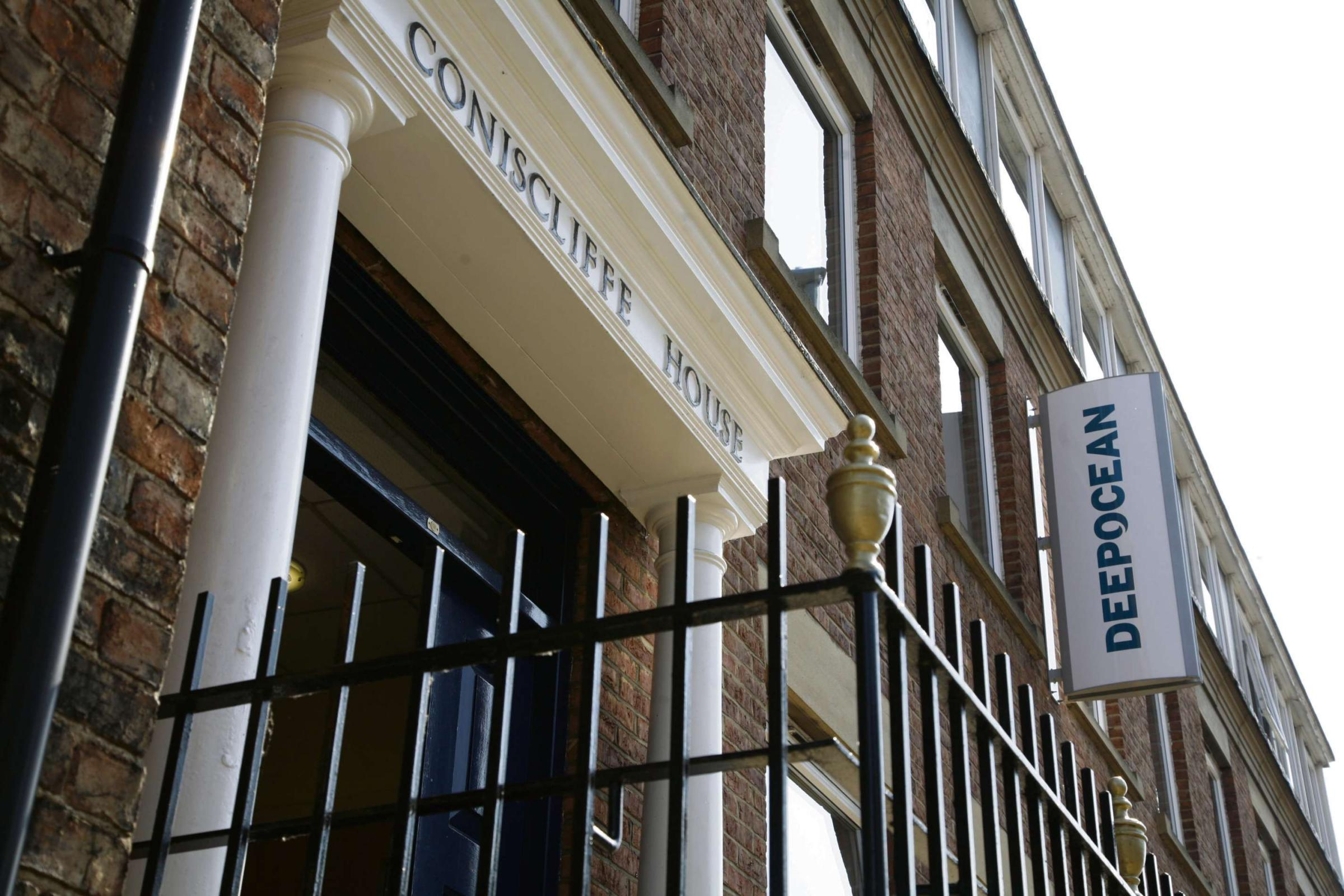 SUBSEA SUCCESS: DeepOcean UK's offices in Coniscliffe House, Darlington
