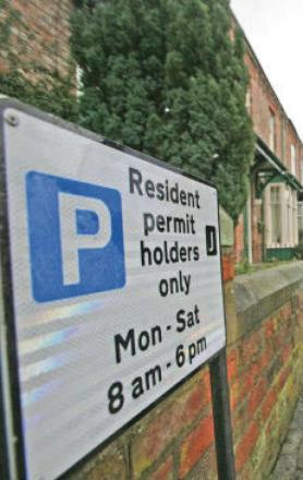 PERMIT ZONES: Changes to residents' parking zones to help tradespeople and visitors (file picture)