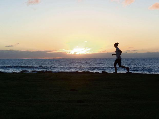 The Northern Echo: FINAL CHALLENGE: Susie Stephen running the Ara Mahiva footpath on Easter Island