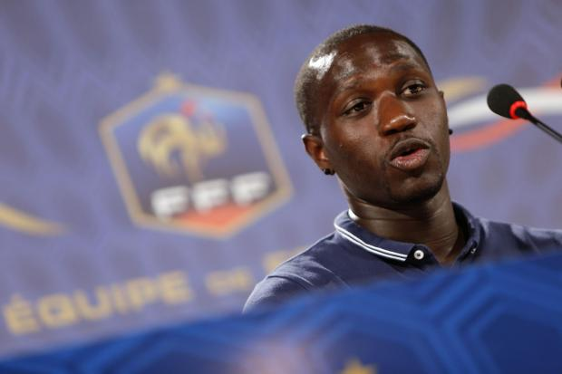 ON SONG: Newcastle midfielder Moussa Sissoko is part of a France side who have won their opening two World Cup matches