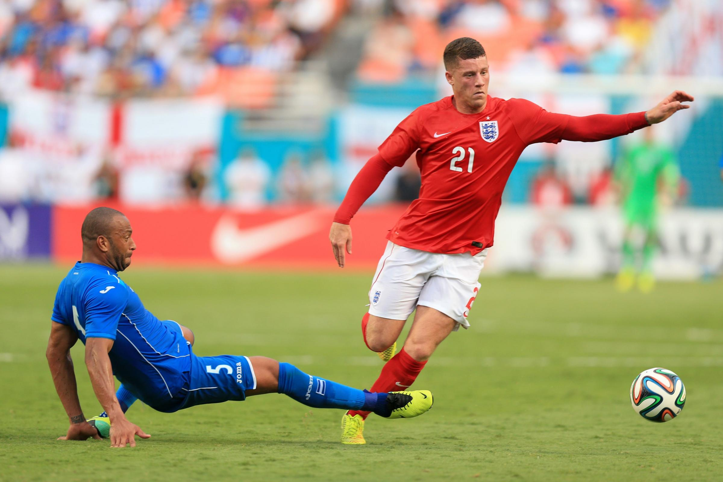 CHANCE TO SHINE: Ross Barkley