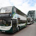 The Northern Echo: PROFITS RISE: A Stagecoach hybrid bus operating in Newcastle