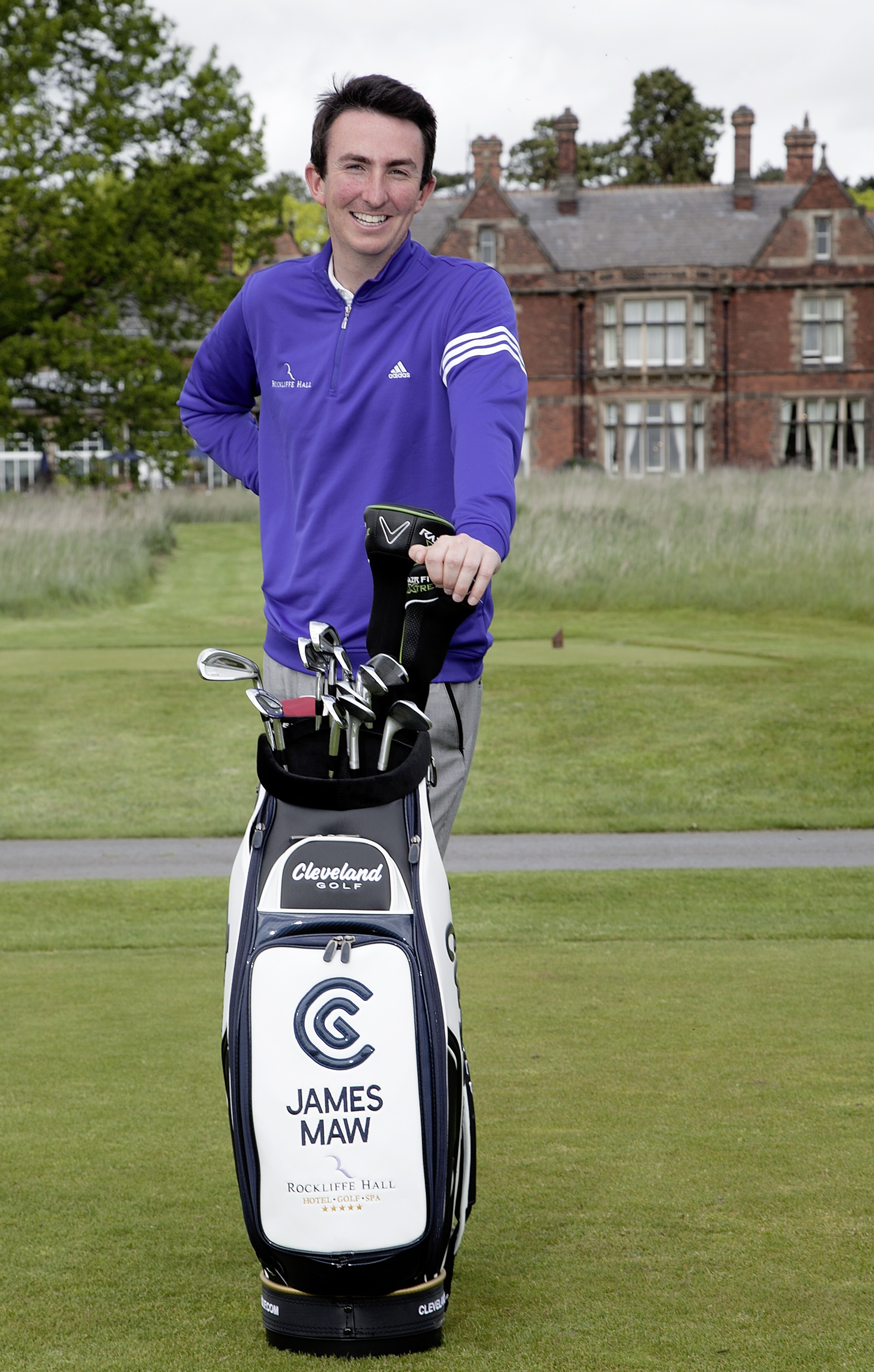 NEW DEAL: James Maw is officially attached to Rockliffe Hall as he plots EuroPro Tour success