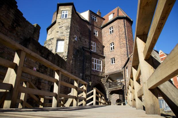 MEDIEVAL PROJECT: The Black Gate, in Newcastle, which NCS carried out work on