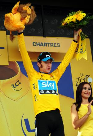 NO REPEAT: Sir Bradley Wiggins, pictured during his 2012 Tour de France triumph, will not be involved in this year's race