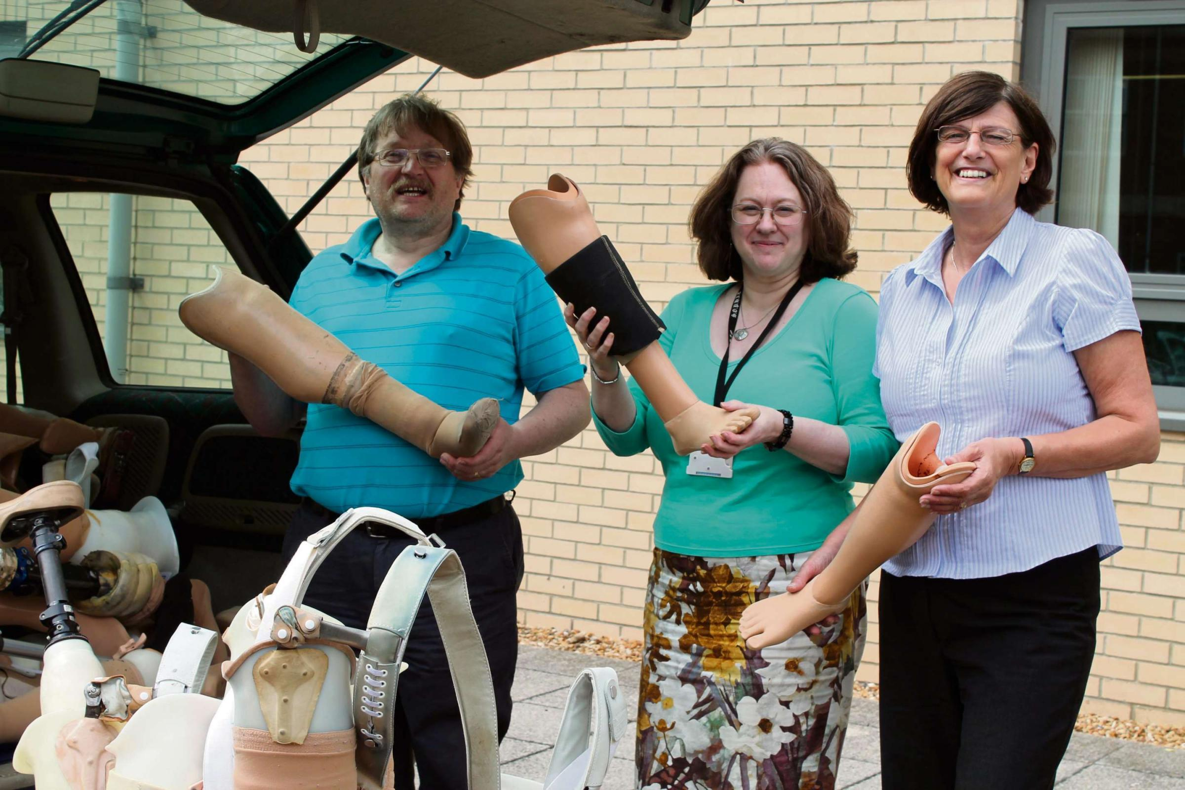 Unwanted prosthetic limbs from North-East hospital set to change lives in Africa