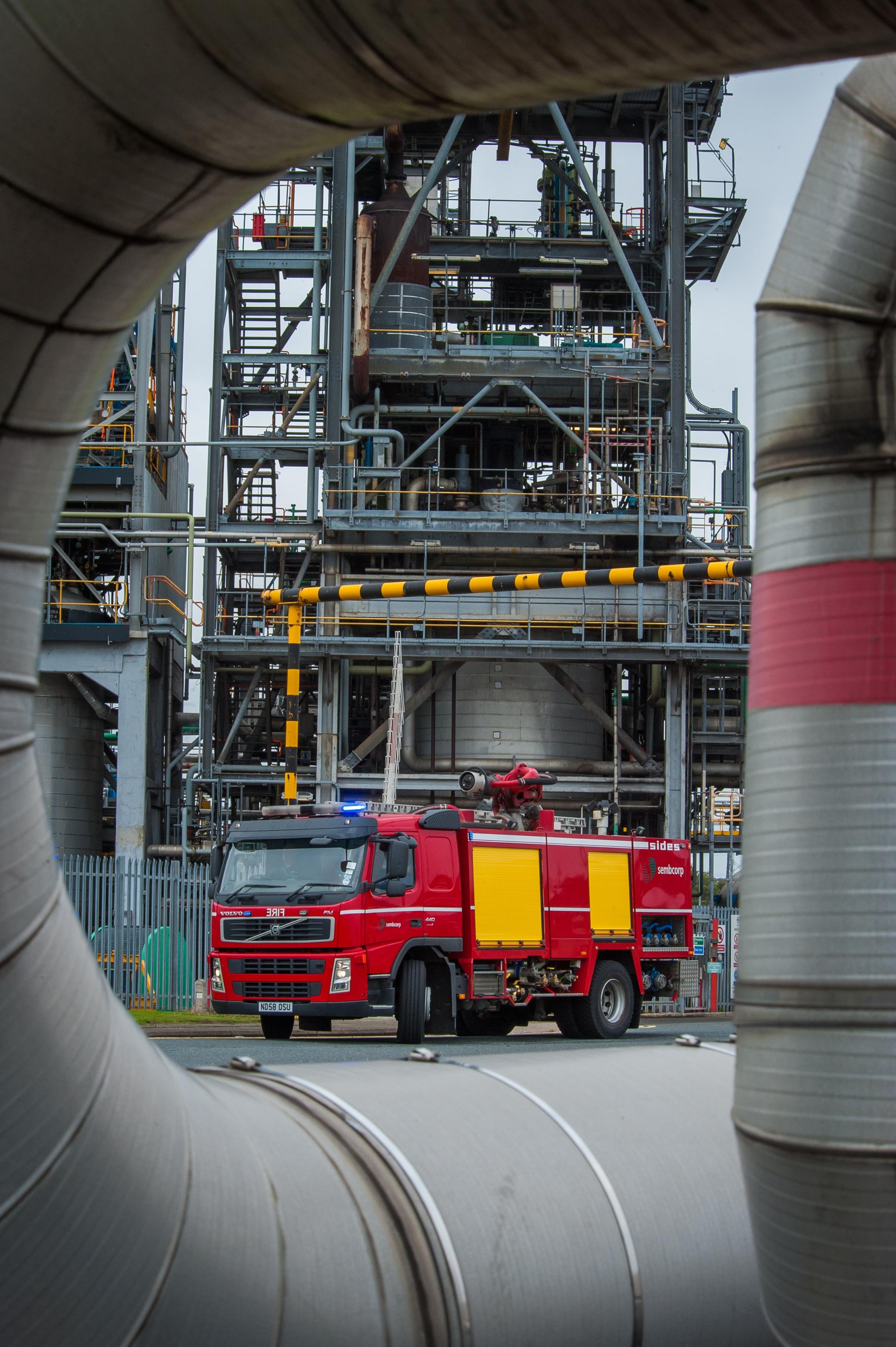 EMERGENCY DEAL: The Falck Group has bought Sembcorp Utilities UK's asset protection and emergency response business